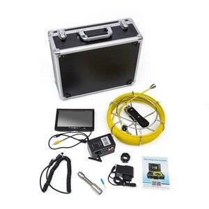"""Image 4 - WP90A 9 """"caméra vidéo dinspection de tuyau sans fil WiFi 20 M, support dendoscope industriel de canalisation dégout de Drain Android/IOS"""