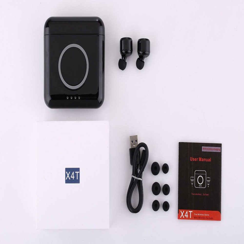 Новые мини беспроводные наушники интеллектуальное шумоподавление Спортивная bluetooth-гарнитура с зарядным устройством поддержка зарядки мобильного телефона
