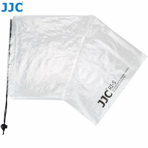 Image 4 - JJC 2 шт. водонепроницаемый чехол для объектива DSLR, защитный чехол от дождя, беззеркальных камер, дождевик для Canon, Nikon, Sony, Fuji, Panasonic, прозрачный