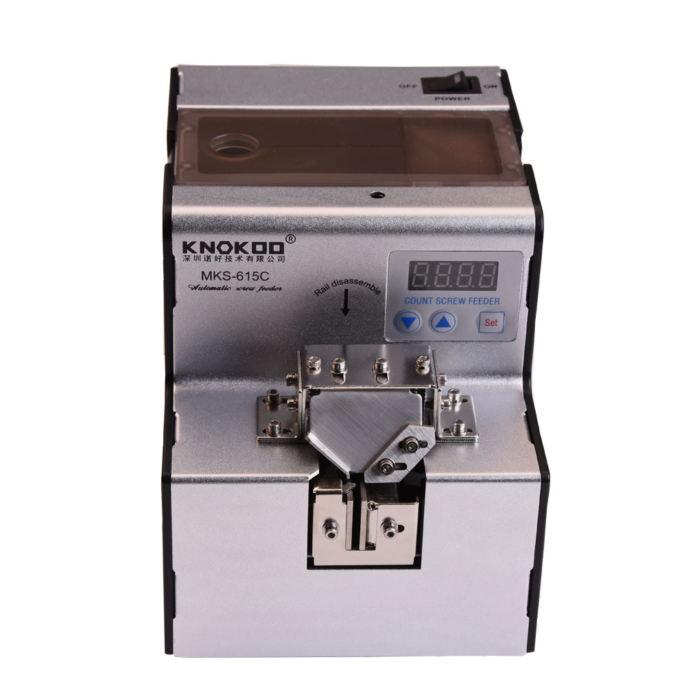 Mini Automatic Auger Screw Feeder Machine MKS-615C Automatic Screwdriver Feeder suit for Various Size Screw from M1.0~M5.0 automatic spanish snacks automatic latin fruit machines