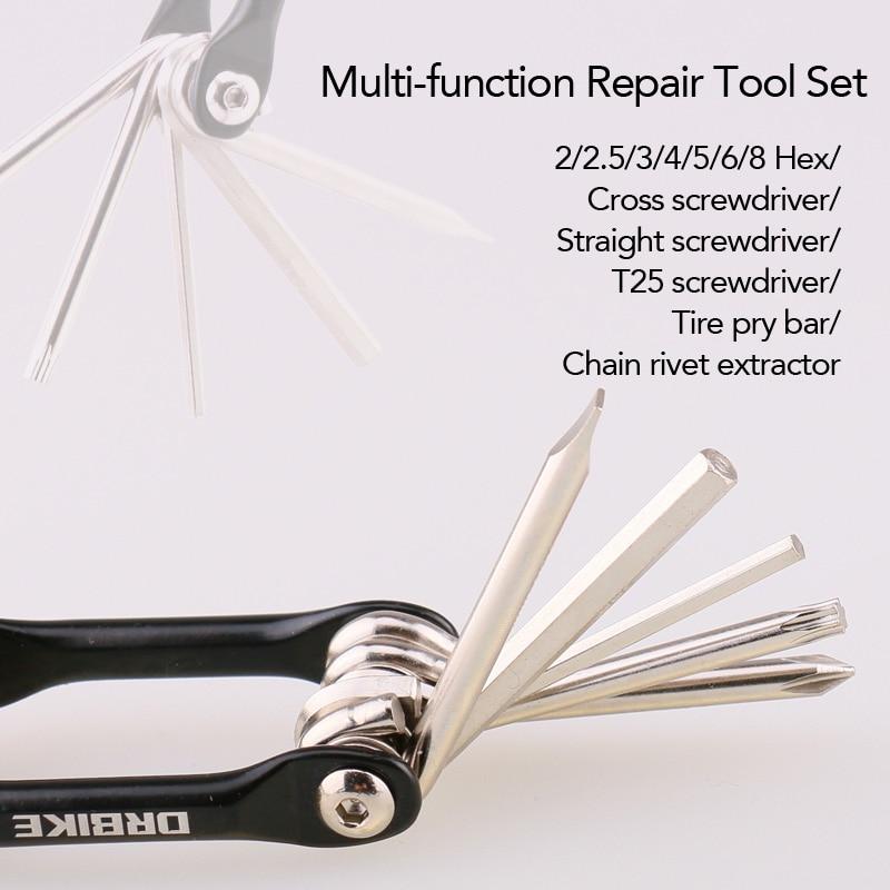 Bicycle Multifunction Tool Kit
