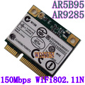 Atheros aw-ne785h ar5b95 ar9285 mini pci - e беспроводной сети wi-fi карты 150 м одной антенна диафрагма