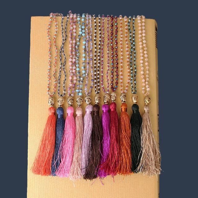 Tassel Buddha Necklaces