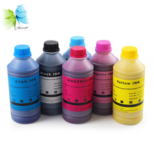 Winnerjet 6 colors x 500ML best quality UV pigment ink for HP designjet 5000 5000PS 5500 5500PS printer compatible ink for HP 83 стоимость