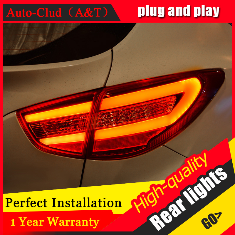 Car Styling LED Tail Lamp for Hyundai ix35 Tail Lights 2013-2016 for ix35 Rear Light DRL+Turn Signal+Brake+Reverse LED light