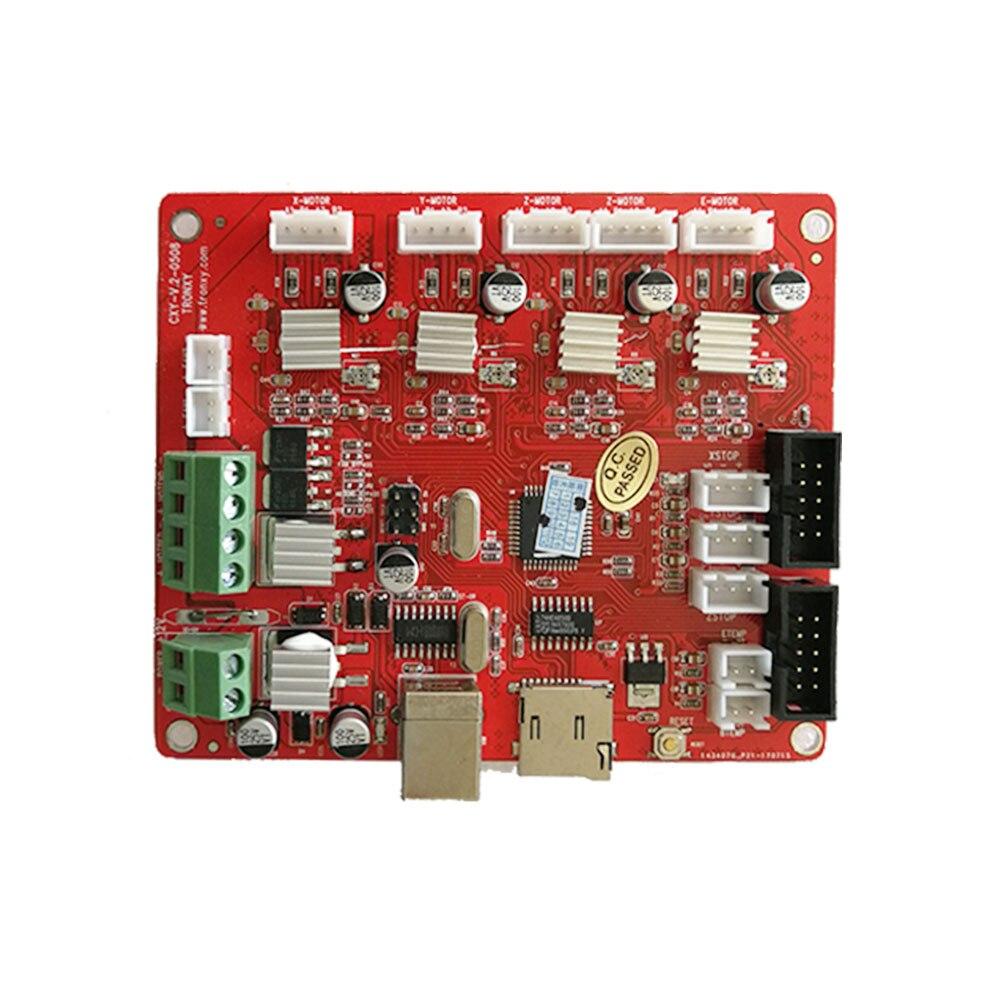 TRONXY X5S 3D Imprimante carte mère CXY-V.2 Contrôle Commutateur 3D Imprimante Carte Contrôleur Livraison gratuite