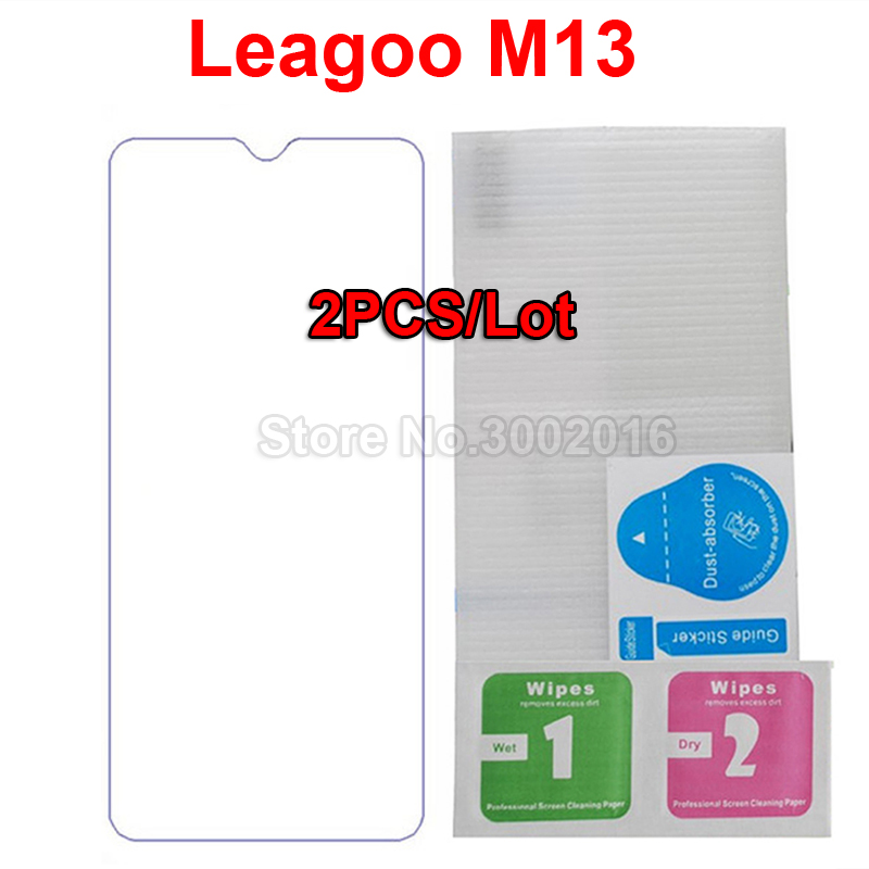 2PCS For Leagoo M13 M 13 Tempered Glass Case 9H Smartphone Screen Protector For Leagoo M13 6.1