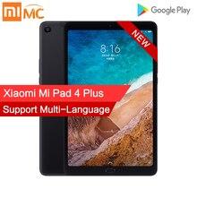 Xiao mi mi Pad 4 Plus 4GB 64GB Snapdragon 660 AIE mi Pad 4 Plus LTE 8620mAh bateria 10.1 16:10 1920x1200 ekran 13.0MP tablety 4