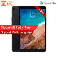 Xiao mi mi Pad 4 Plus 4GB 64GB Snapdragon 660 AIE mi Pad 4 più LTE 8620mAh batteria 10.1 ''16:10 1920x1200 Dello Schermo 13.0MP Compresse 4