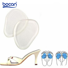 Insoles Silicon Expand-Shoes Foot-Pain Anti-Slip High-Heels Soft-Feel GEL Bocan for Tape