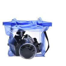 High Quality Underwater Camera Case Waterproof Dry Bag for SLR DSLR HD Diving Housing Pouch Outdoor Sealing Swimming