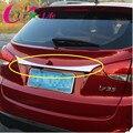Aço inoxidável Chrome Rear Bumper Decoração Tampa Traseira Proteção Adesivo Para Hyundai ix35 2013 2014 2015 Acessórios Do Carro