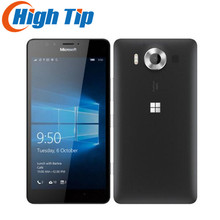 "Débloqué Original Nokia Microsoft Lumia 950 XL Windows 10 Mobile Téléphone 4G LTE GSM 5.7 ""20MP Octa Core 3 GB RAM"