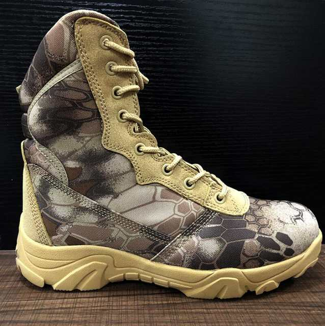 5bf991a7ab0 US $38.17 39% OFF|XEK Men Military Tactical Boots Autumn Winter Waterproof  Leather Army Boots Desert Safty Work Shoes Combat Ankle Boots wyq08-in Work  ...