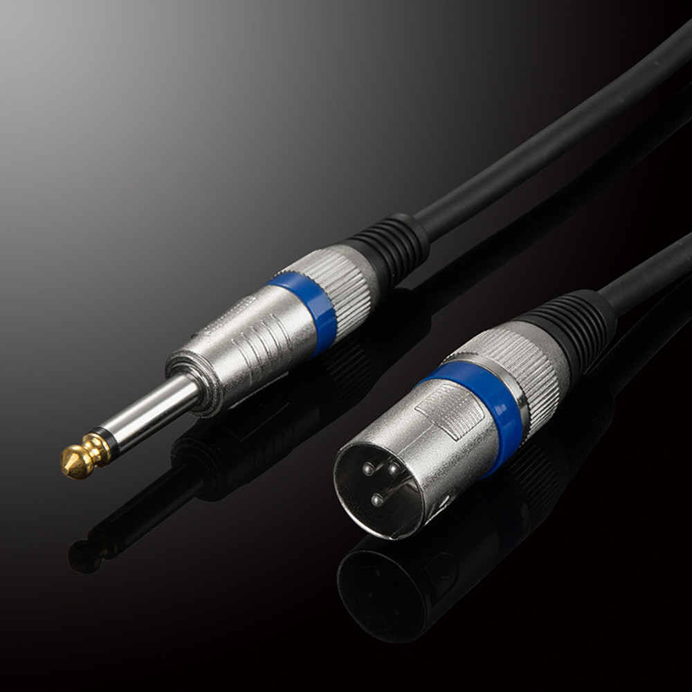 online get cheap microphone jack wiring aliexpress com alibaba 6 35mm male to xlr male audio cable trs xlr audio wire stereo ofc audio cable for microphone mixer dvd hdtv speakers 1m 2m 3m 5m