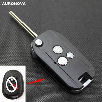 AURONOVA nowa aktualizacja składane klucze dla Hyundai Coupe 3 przyciski zaktualizowane obudowa pilota z klucz samochodowym tanie i dobre opinie China Car Key ABS Plastic Copper Blade