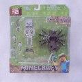 Жокей Пакет Оригинальный Jazwares Minecraft Overworld Паук Игрушки и Игры Фигурку Новый в Коробке