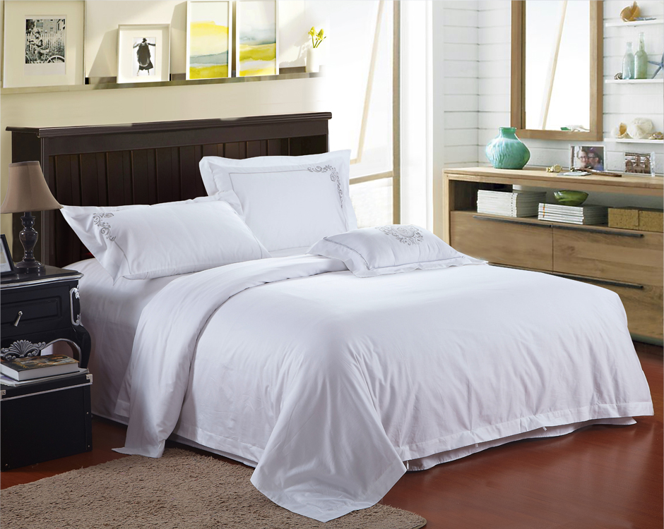 white bed sets 100 cotton white hotel bedlinen fashion hotel 13816