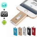 Relâmpago OTG Flash Drive 32 GB 64 GB 128 GB 256 GB 1 TB Para iOS 10 e usb para computador pc para tablet otg pendrive para iphone u disco