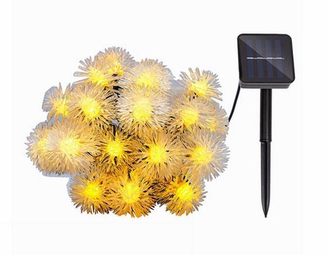 Ruiky 8 m 50 led chuzzle leggiadramente di illuminazione per