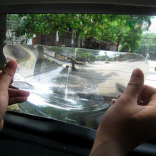 цена на 20*25CM Auto Car SUV Wide Angle Rear Lens Reversing Parking Window Lens Sticker