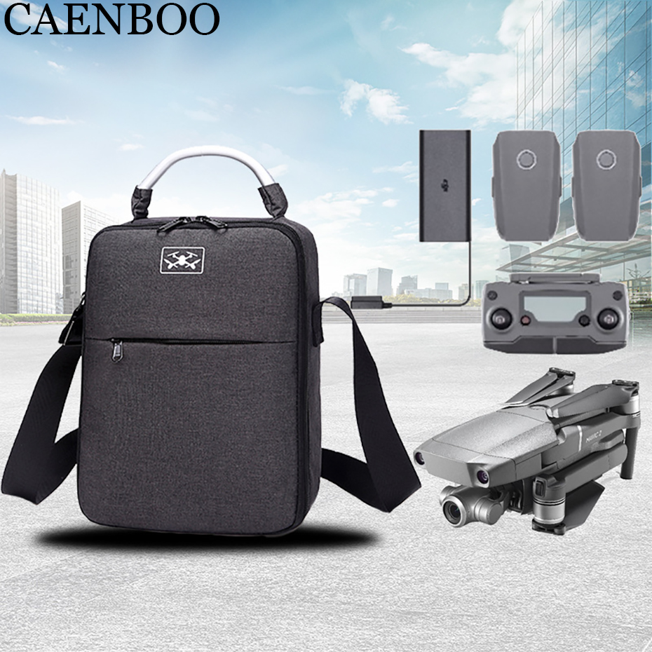 цена на For DJI Mavic 2 Bag Accessories Waterproof Portable Mavic2 Pro/Zoom Case EVA Drone Box Bag Protector+Shoulder Strap Carry Handle