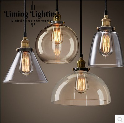 European style retro glass chandelier North Village Industrial study the living room bedroom living rough bar lamp loft north european style retro minimalist modern industrial wood desk lamp bedroom study desk lamp bedside lamp