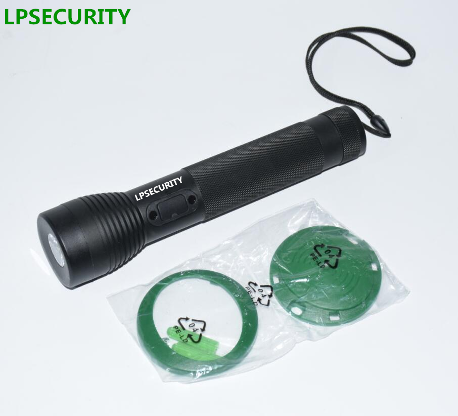 LPSECURITY  RFID Guard Tour Patrol System, Security Patrol Wand,Guard Tour Device LED Light With 10 Check Points