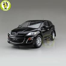 1/18 CX 7 CX 7 MAZ DA โลหะ Diecast รถ SUV รุ่นของเล่นของขวัญเด็กผู้หญิงคอลเลกชันสีดำ