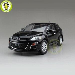Image 1 - 1/18 CX 7 CX 7 MAZ DA Diecast מתכת רכב SUV דגם צעצוע ילד ילדה מתנת אוסף שחור