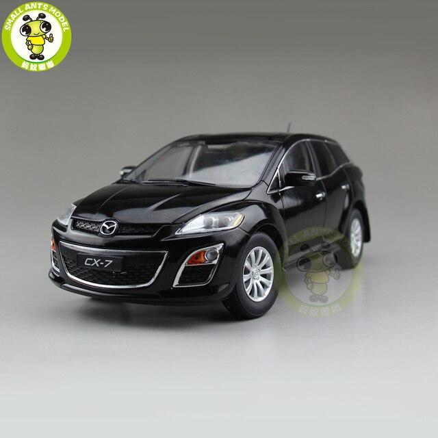 1/18 CX 7 CX 7 MAZ DA Diecast מתכת רכב SUV דגם צעצוע ילד ילדה מתנת אוסף שחור