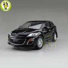 1/18 CX 7 CX 7 ماز دا ديكاست سيارة معدنية SUV لعبة مجسمة صبي فتاة هدية جمع أسود