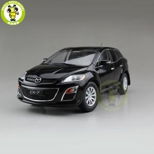Image 1 - 1/18 CX 7 CX 7 ماز دا ديكاست سيارة معدنية SUV لعبة مجسمة صبي فتاة هدية جمع أسود