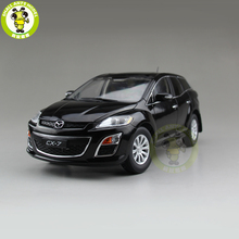 1/18 CX 7 cx 7 maz da diecast metal carro suv modelo de brinquedo menino menina presente coleção preto