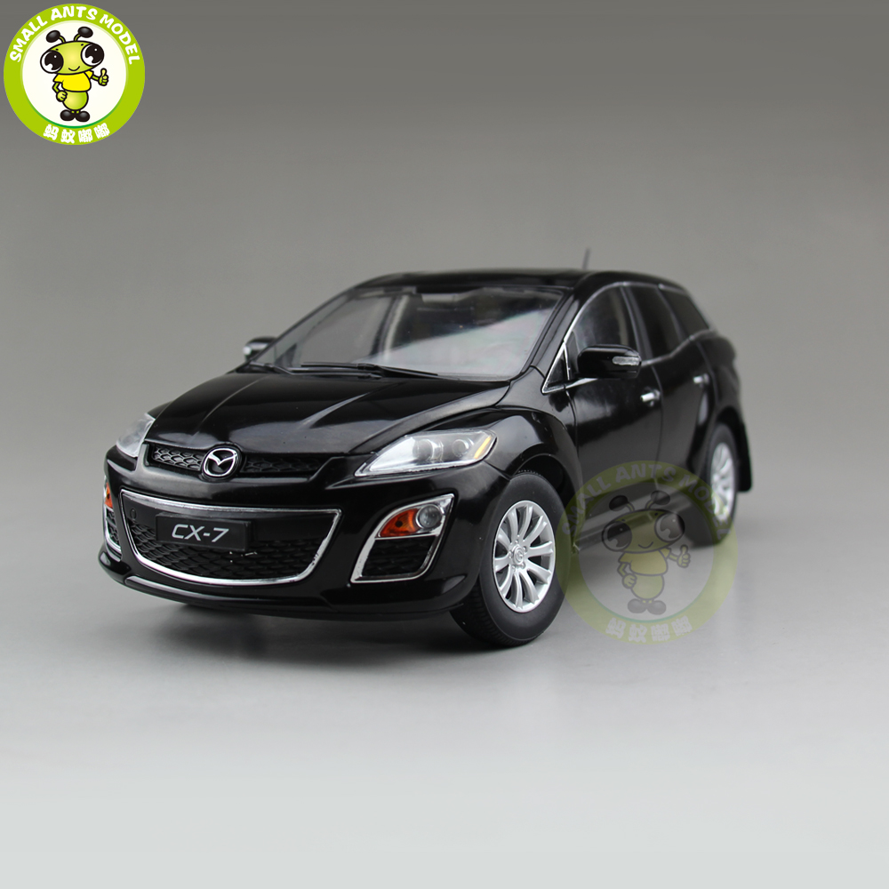 1/18 Mazda CX 7 CX 7 Diecast Metal Car SUV Model Toy Boy Girl Gift Collection Black