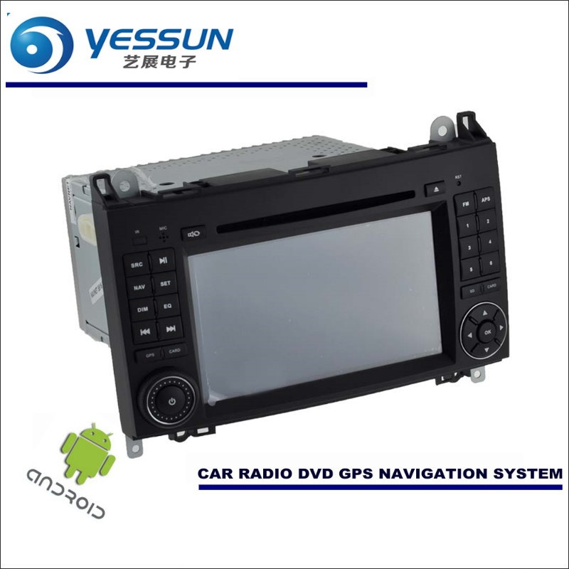 цены YESSUN Car Android Navigation For Mercedes Benz A Class W169 A150 A160 A170 A180 A200 Radio Stereo CD DVD Player GPS Multimedia