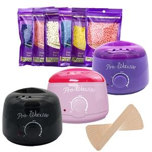 MEIERLI Paraffin Wax Heater Hair Removal Cream Heater 100g Wax Beans Wax Machine Warmer Heater Professional Mini SPA Hands Feet