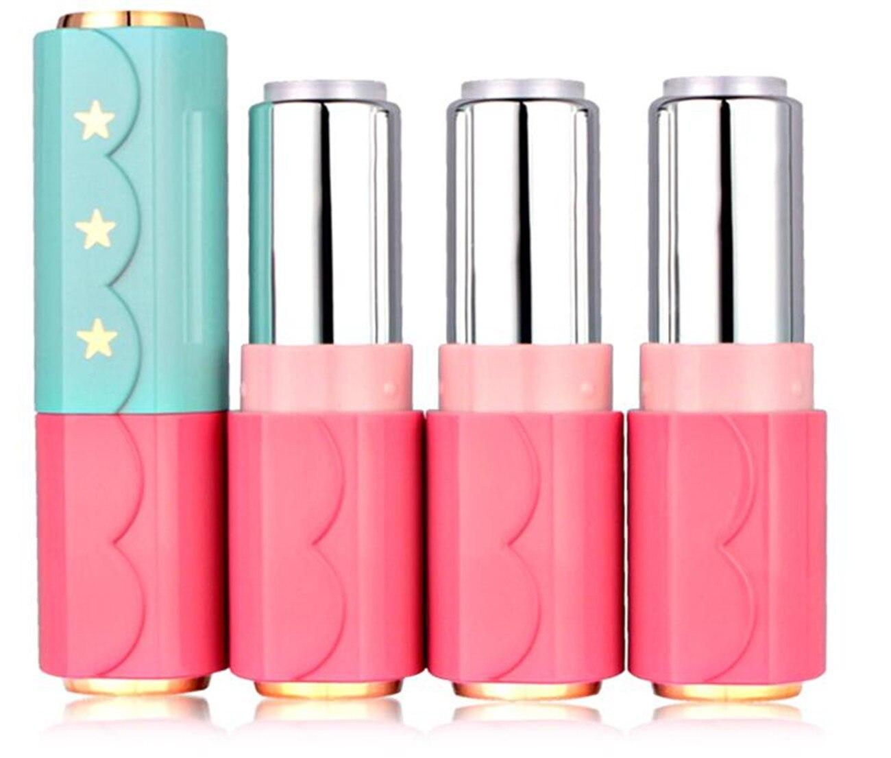 5 Teile/los Leere Grade Kunststoff Quadratischen Lippenstift mit ...