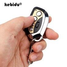 Kebidu 4ปุ่มไร้สาย433MHzรีโมทคอนโทรลใหม่ล่าสุดDuplicatorความถี่อัตโนมัติปรับพวงกุญแจสำหรับรถโรงรถประตู