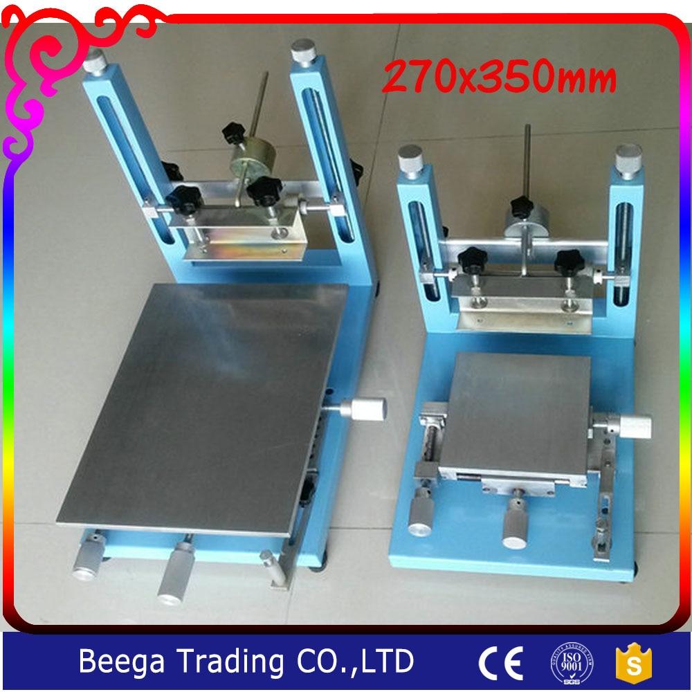 270MMX350MMShirtboard Printing Machines New Type of High Precision Handprint Manual Screen Press Fingerprint SMT Stencil Machine crusade vol 3 the master of machines