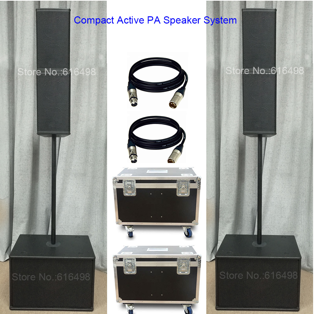 rms 2200watts compact active pa speaker powered speaker combo as6512 built in amplifier dsp. Black Bedroom Furniture Sets. Home Design Ideas