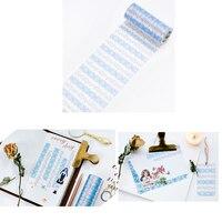10 см 5 м синий Сращивание шаблон дизайн Васи клейкие ленты DIY скрапбукинга наклейка этикетка маскирующая лента домашний декор