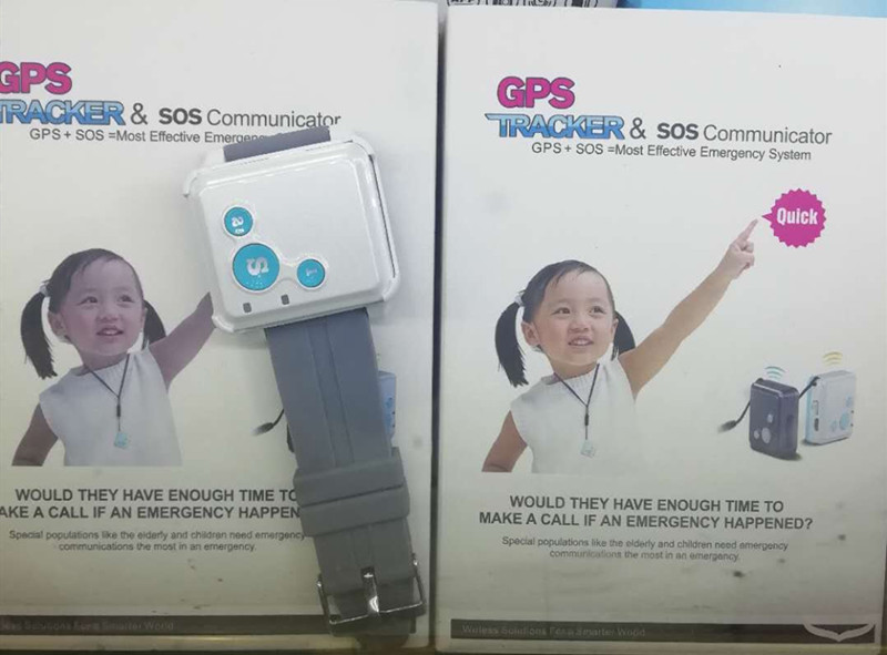 Portable GPS Tracker For Children Security SOS Emergency GPS Watch