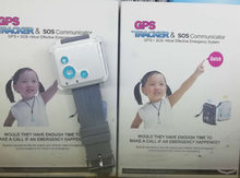 Portable GPS Tracker For Children Security SOS Emergency GPS Watch(China)