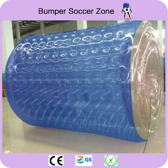 Free Shipping Factory Customize Hot 0.8mm PVC Water Walking Roller Ball Inflatable Water Roller Ball Water Toy For Sale