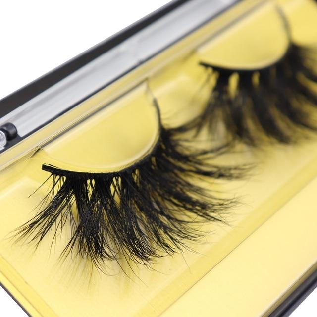 DOCOCER Lashes 3D Mink Eyelashes Handmade Mink Lashes 25mm cruelty-free Lightweight False Eyelashes  Dramatic Lashes Makeup D804 2