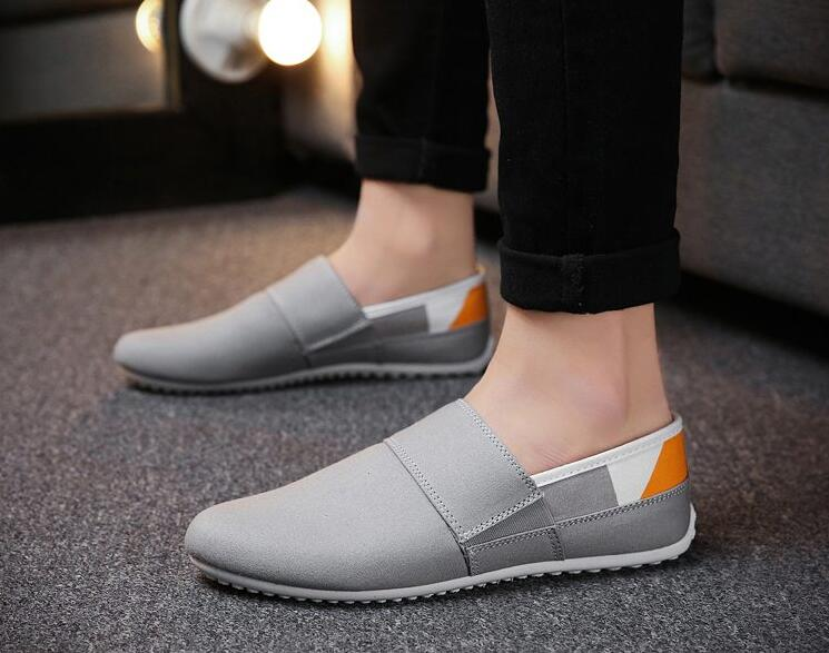 Spring Summer Breathable Moccasins Men sport Shoes Male sneakers Walking Driver Footwear 2018 shoes men in Walking Shoes from Sports Entertainment