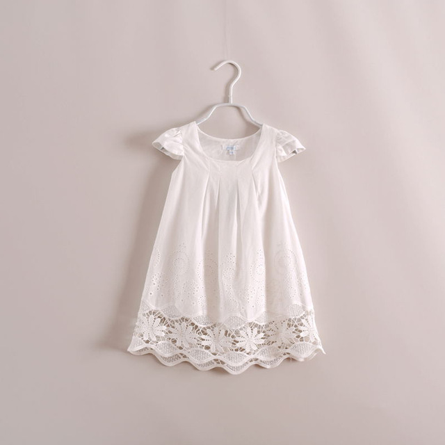 Summer 2017 Girl Dress New Brand Baby Lace Girls Dress Cute Kids Clothes Vestidos Children Dress Princess Dresses for Girls