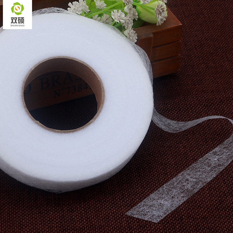 Diy Accessories Cloth  The Patchwork Lining Fabric  Double Faced Adhesive Fabric  Need To Use Electric Iron 70 Yards / Disk #3