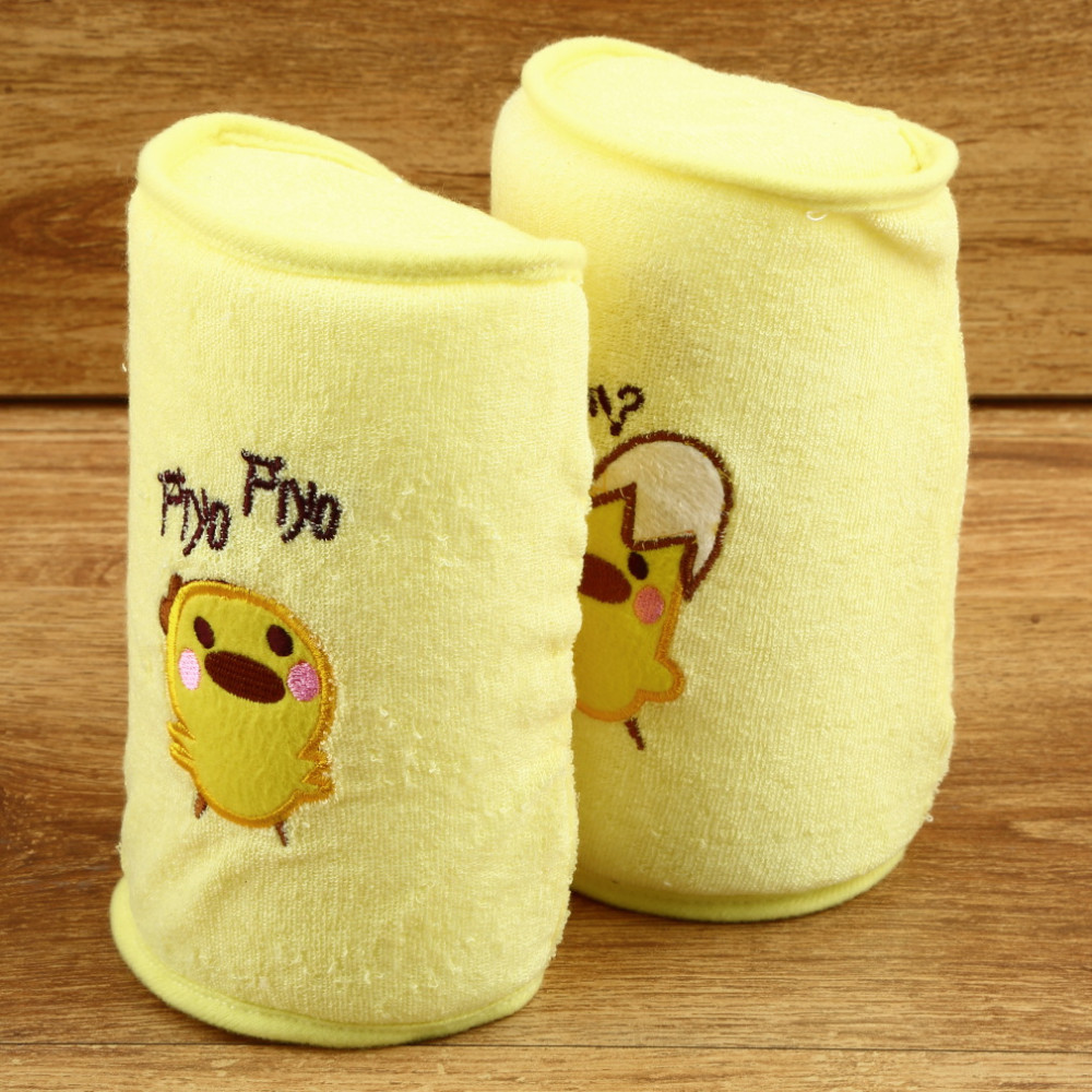 1Pcs Soft Comfortable Cotton Anti Roll Baby Pillow Lovely Baby Care Toddler Safe Cartoon Sleep Head Positioner Anti-rollover